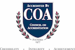 Council of Accreditation accredited