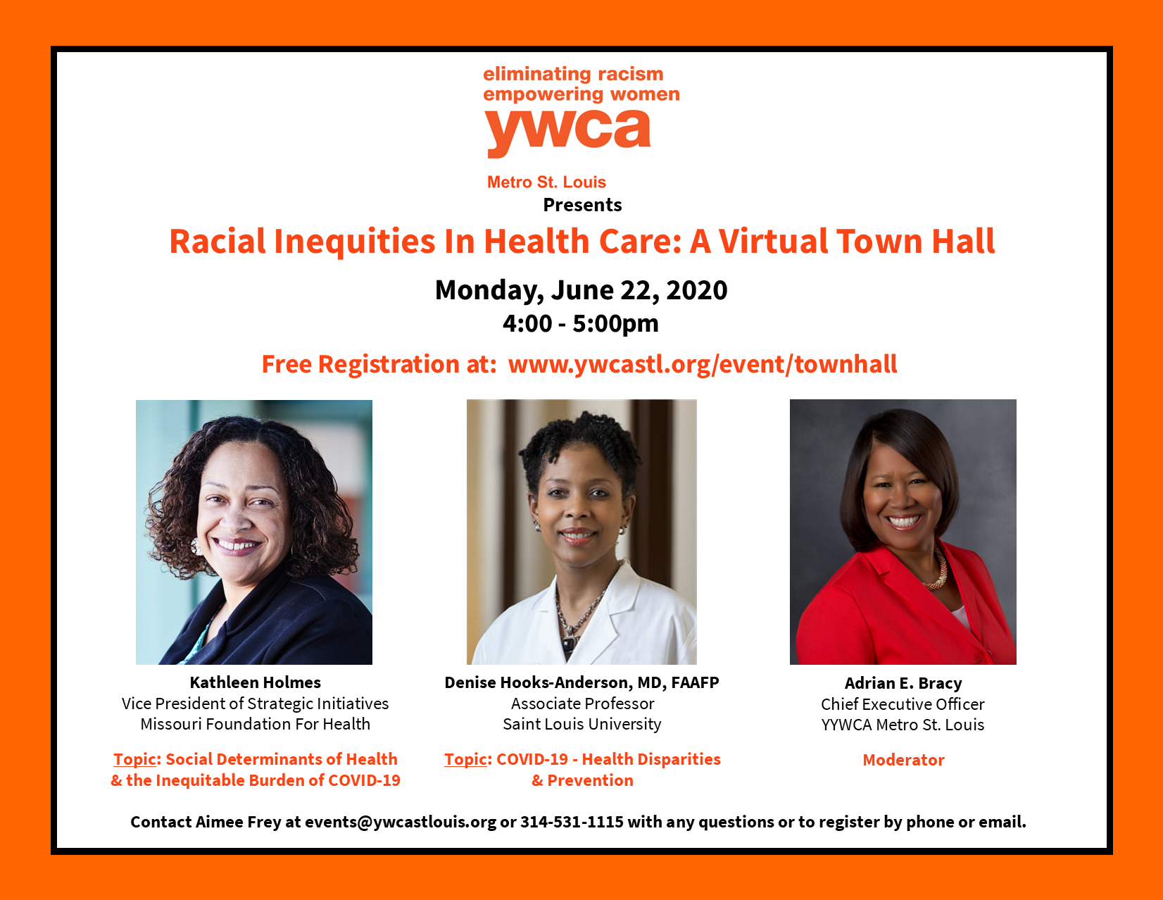 Racial Inequities In Health Care: A Virtual Town Hall