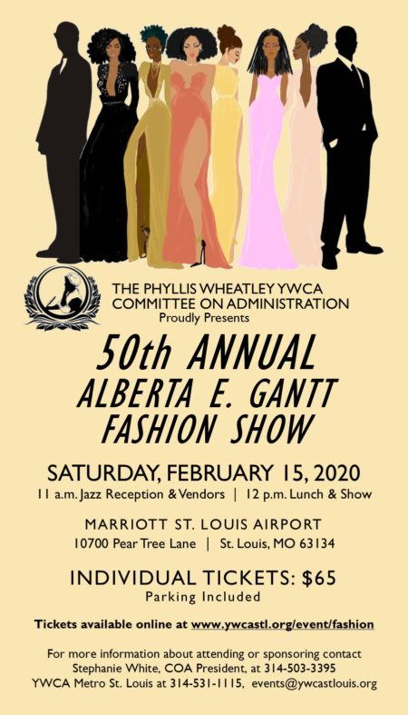 50th Annual Alberta E. Gantt Fashion Show @ Marriott St. Louis Airport