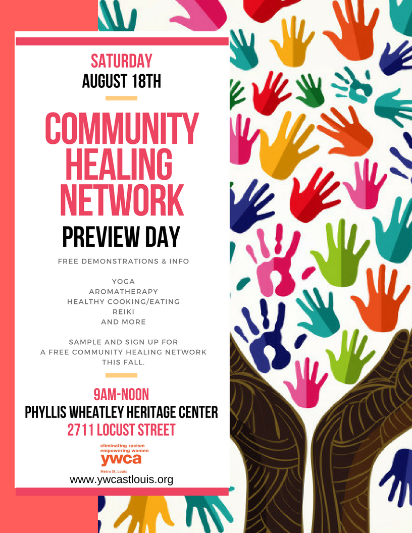 Community Healing Network Preview Day @ Phyllis Wheatley Heritage Center